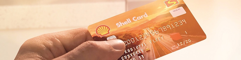 Shell card at ATM